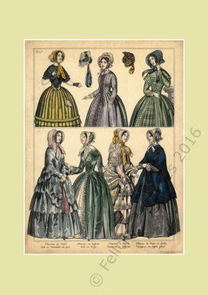 Fashion Illustration Prints